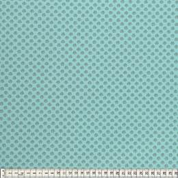 Tissu Mez jersey flower dream mini turquoise - 22