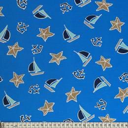 Tissu Mez Fabrics jersey beach days starfish sand - 22