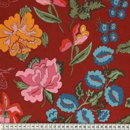 Tissu Mez Fabrics jersey stauder red a&c - 22