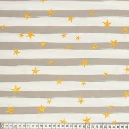 Tissu Mez Fabrics enduit beach days stripe taupe - 22