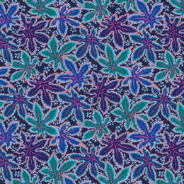 Tissu Spring lacy leaf-blue Philip Jacobs - 22