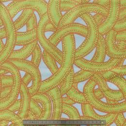 Tissu rope green - 22