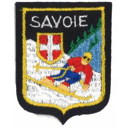 Écusson Savoie gm skieur - 233