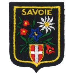 Écusson Savoie gm fleurs/montagne - 233