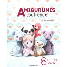 Livre creation crochet n°105 Amigurumis tout doux - 254