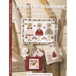 Livre trésors de brodeuses - 254