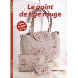 Le point de tige rouge - 254
