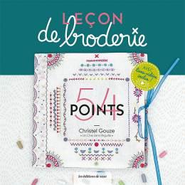 """Livre Leçon de broderie  """"Un Chat dans l'Aiguille"""" - 254"""
