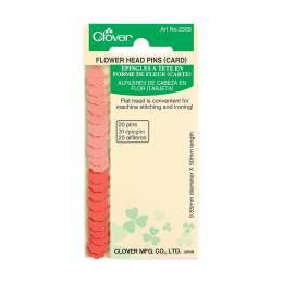Épingles à tête en forme de fleurcarte - 256