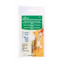 Épingles pour patchwork - Boîte 3 Tubes empilables - 256
