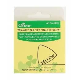 Craie triangulaire jaune - 256