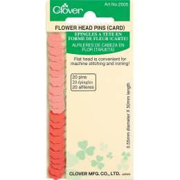 Épingles à tête en forme de fleur - 256