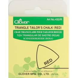 Craie triangulaire rouge - 256