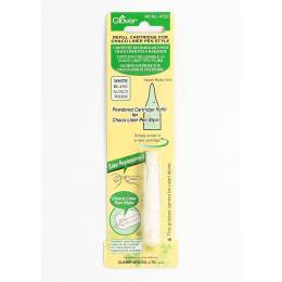 Cartouche rechargeable p/chaco liner blanc - 256