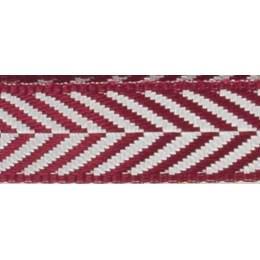 Ruban fantaisie motifs chevrons - 258