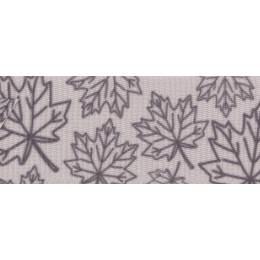 Ruban fantaisie motifs feuilles - 258