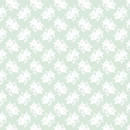 Coupon Tilda 110 x 1m rose teal - 26