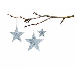 Étoiles à suspendre Tilda x 3 tailles - 26
