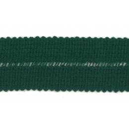 Tresse pre-pliee 3cm vert