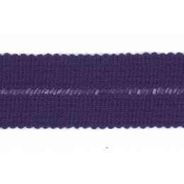 Tresse pre-pliee 3cm violet - 267