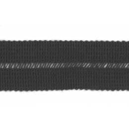 Tresse pre-pliee 3cm kaki - 267
