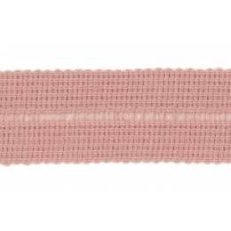 Tresse pre-pliee 3cm vx rose
