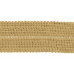 Tresse pre-pliee 3cm daim - 267
