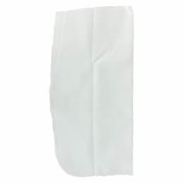 Poche pantalon à coudre polyester-1paire-blanc