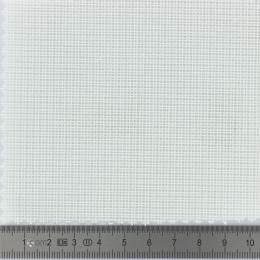 Toile canevas pénélope blanc coton 150 - 282