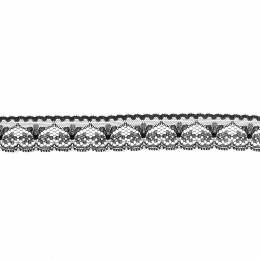Dentelle noir 2,5cm - 288
