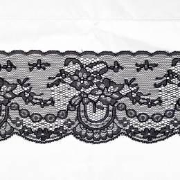 Bande rachel noir 10 cm - 288