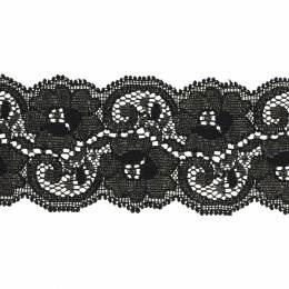Bande rachel lycra noir 5 cm - 288