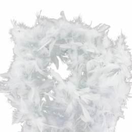 Boa moyen plumes déchirées 1,90m gris - 319