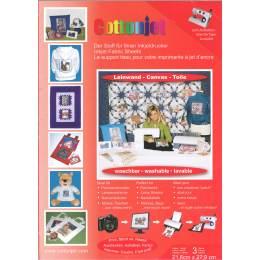 Support toile pour imprimer x3 feuilles A4 - 320