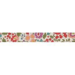 Biais Liberty Fabrics Tana Lawn® d'anjo - 34