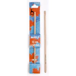 Crochet bois d'érable 15cm n°3,5 - 346