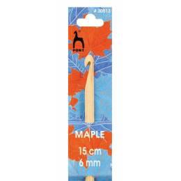 Crochet bois d'érable 15cm n°6 - 346
