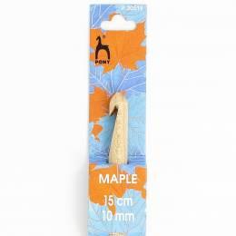 Crochet bois d'érable 15cm n°10 - 346