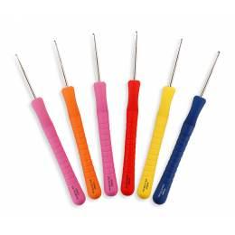 Crochet manche doux 14cm 0,60 mm - 346