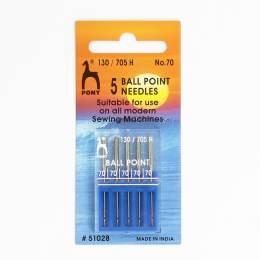 Aiguille machine tp n°70 ball point - 346