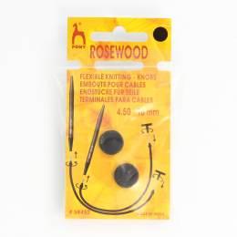 Embout pour cable pour bois de rose col noir - 346