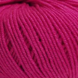Laine merino silk 10/50g aubergine - 35