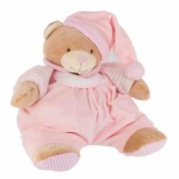 Doudou range pyjama ours rose - 367