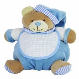 Doudou ours à broder bleu - 367