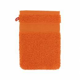 Gant éponge à broder orange