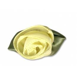Fleur grand modèle x 100 jaune/vert - 397