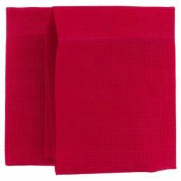 Coupon aïda 5,5 rouge 35x40 - 399