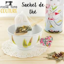 """10 fiches tuto """"sachet de thé réutilisable"""" - 399"""