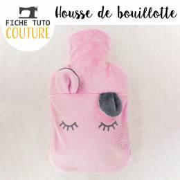 """10 fiches tuto """"housse de bouillotte"""" - 399"""
