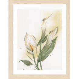 Kit au point compté calla lily - 4